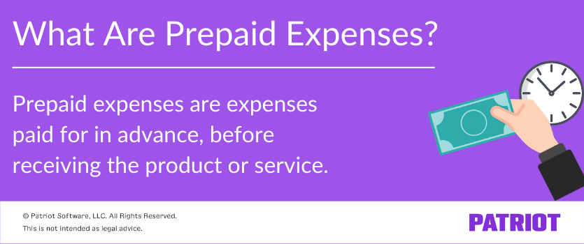 what is prepaid expenses journal entry