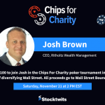 Beat me at poker – we're playing for a good cause!