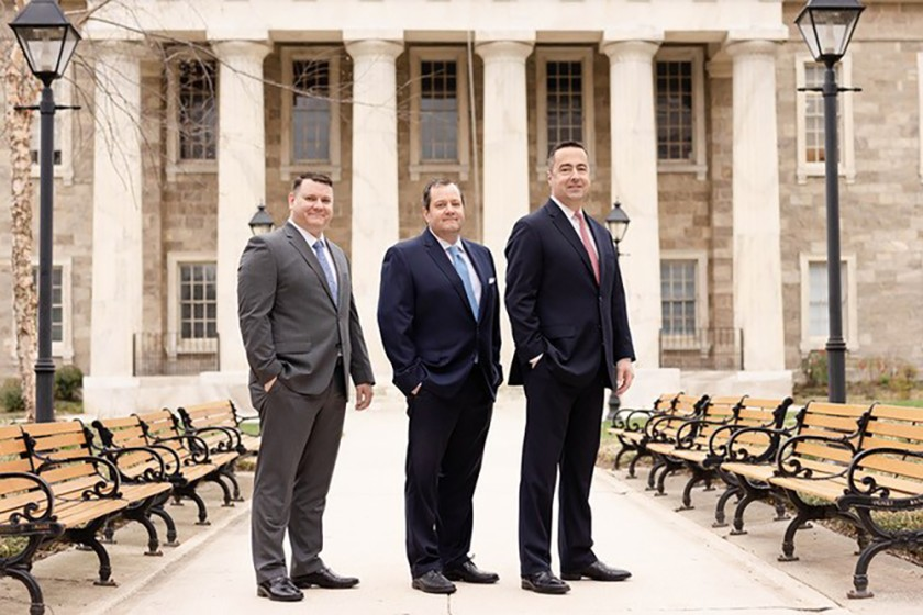 Scott Kelly, Andrew Meredith and Kevin Lindung of Meredith Lindung Wealth Management